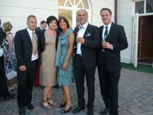 engere Familie ohne Brautpaar