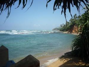 Sri Lanka - Der Indische Ozean vor unserer Lodge