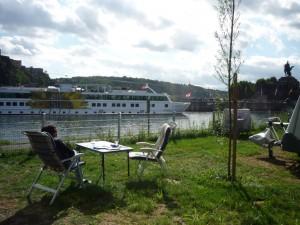 Camping am Deutschen Eck in Koblenz