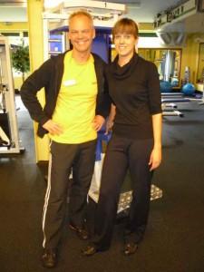 meine Trainer - Christina und Ralf