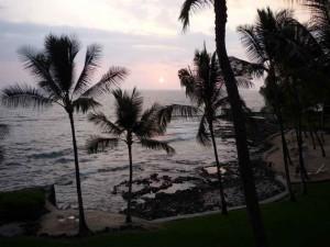 Sonnenuntergang in Kona