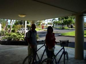 Zwei scöne Bikes von Hannes