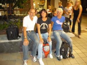 Am Flughafen Kona mit Andrea